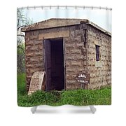 Route 66 - Texola Jail Shower Curtain