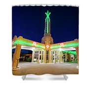 Route 66 Tower Conoco #2 Shower Curtain
