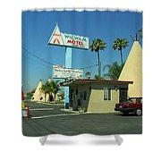 Route 66 - Wigwam Motel 3 Shower Curtain