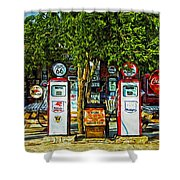 Route 66 Shower Curtain