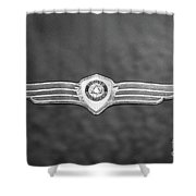 Monotone Dodge Shower Curtain