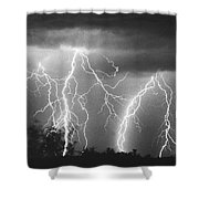 Route 666-signed Shower Curtain