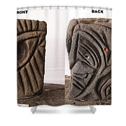 Routines Shower Curtain