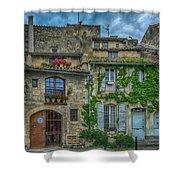 Row Houses Arles France_dsc5719_16_dsc5719_16 Shower Curtain