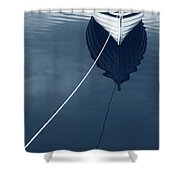Row Row Row Your Boat Life Is But A Dream Shower Curtain