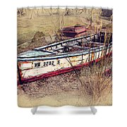 Rowboat Modified Shower Curtain