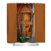 Rowboat Sandhamn Shower Curtain