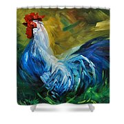 Rowdy Rooster Shower Curtain
