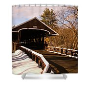 Rowell Bridge Shower Curtain