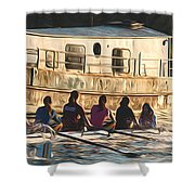 Rowers Shower Curtain