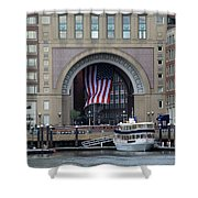 Rowes Warf Shower Curtain