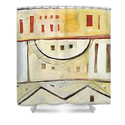 Rowhouse No. 1 Shower Curtain