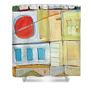 Rowhouse No. 2 Shower Curtain