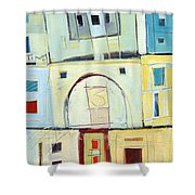 Rowhouse No. 3 Shower Curtain
