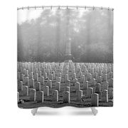 Rows Of Heros Shower Curtain