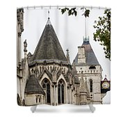Royal Courts Of Justice Shower Curtain