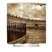 Royal Crescent Bath Somerset England Uk Shower Curtain