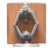 Royal Door Knocker Shower Curtain
