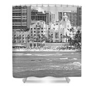Royal Hawaiian Hotel - Waikiki Shower Curtain