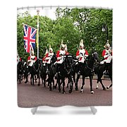 Royal Household Cavalry Shower Curtain