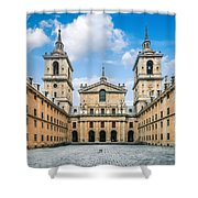 Royal Monastery El Escorial Shower Curtain