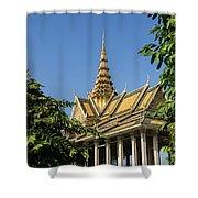 Royal Palace 04 Shower Curtain