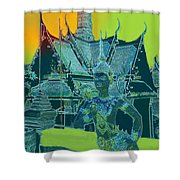 Royal Palace Bangkok Shower Curtain