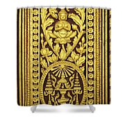 Royal Palace Gilded Door 01 Shower Curtain