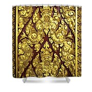 Royal Palace Gilded Door 02 Shower Curtain