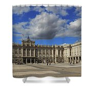 Royal Palace Of Madrid Spain Shower Curtain