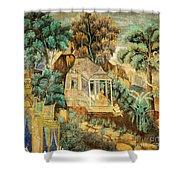 Royal Palace Ramayana 12 Shower Curtain