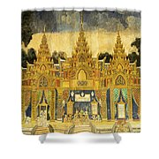 Royal Palace Ramayana 20 Shower Curtain