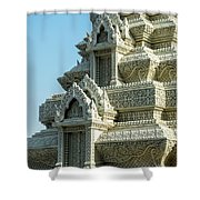 Royal Palace Shrine 01  Shower Curtain