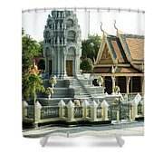 Royal Palace Shrine 02  Shower Curtain