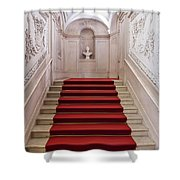 Royal Palace Staircase Shower Curtain