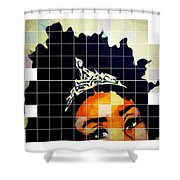 Royal Roots Shower Curtain