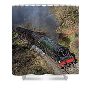 Royal Scott Different Angle Shower Curtain