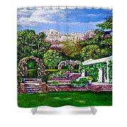 Rozannes Garden Shower Curtain
