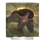 Ruacha - Ruach - Holy Spirit Shower Curtain