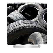 Rubber Refuse Shower Curtain
