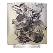 Rubberband Shower Curtain