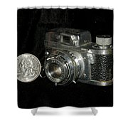 Rubix 16mm Film 1949 Shower Curtain