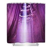 Ruby Falls Shower Curtain