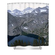 Ruby Lake Shower Curtain
