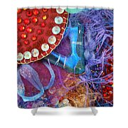 Ruby Slippers 7 Shower Curtain