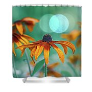 Rudbeckia Shower Curtain