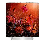 Rudbeckia's 45 Shower Curtain