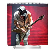 Rudolf Schenker Shreds Shower Curtain