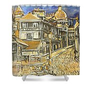 Rue Lepic Shower Curtain
