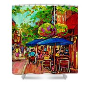 Rue Prince Arthur Montreal Shower Curtain